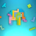 Block Square Puzzle: Tangram