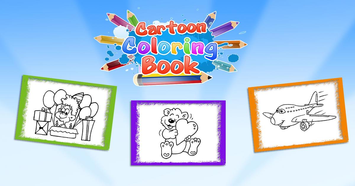 Image Cartoon Coloring Book