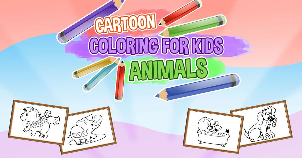 Image Cartoon Coloring for Kids - Animals