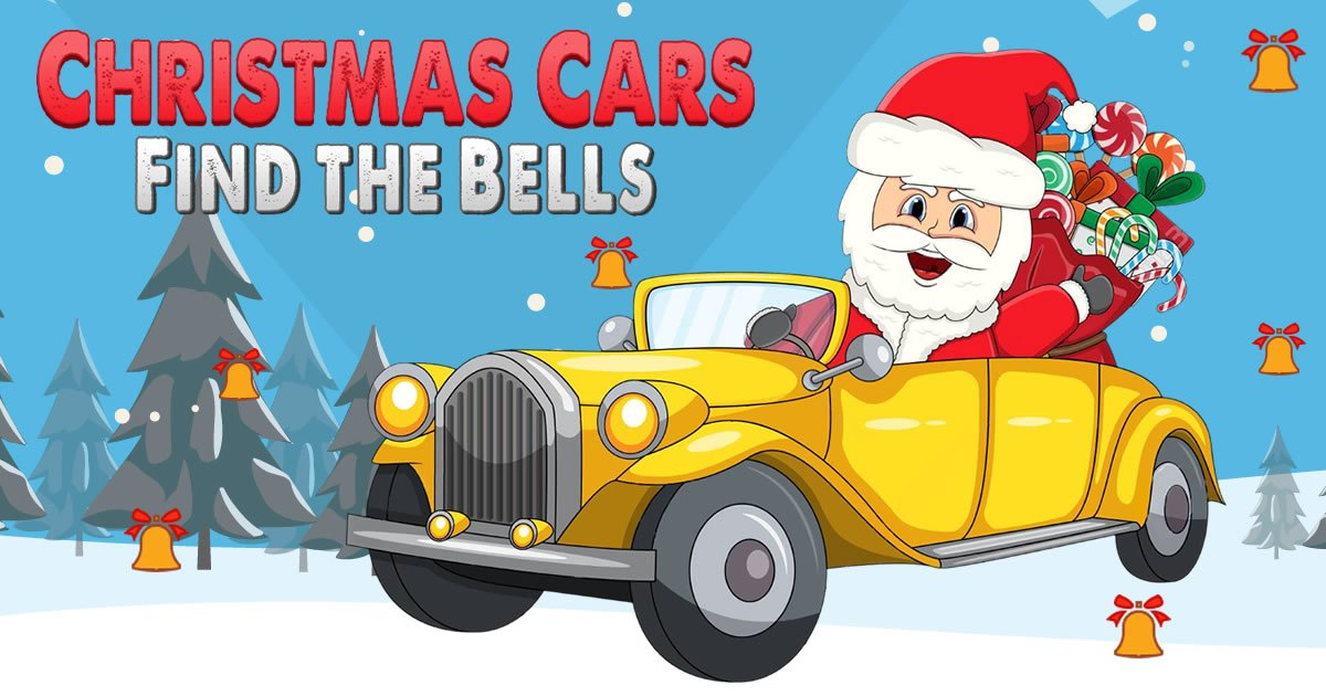 Image Christmas Cars Find the Bells