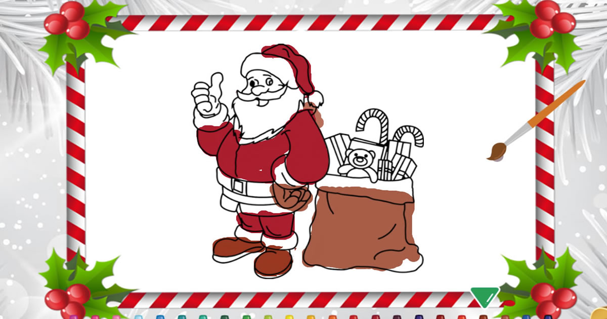 Image Christmas Coloring Book
