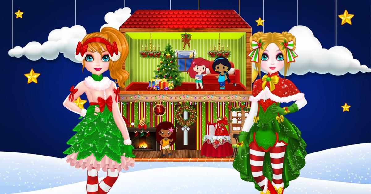 Image Christmas Puppet Princess House