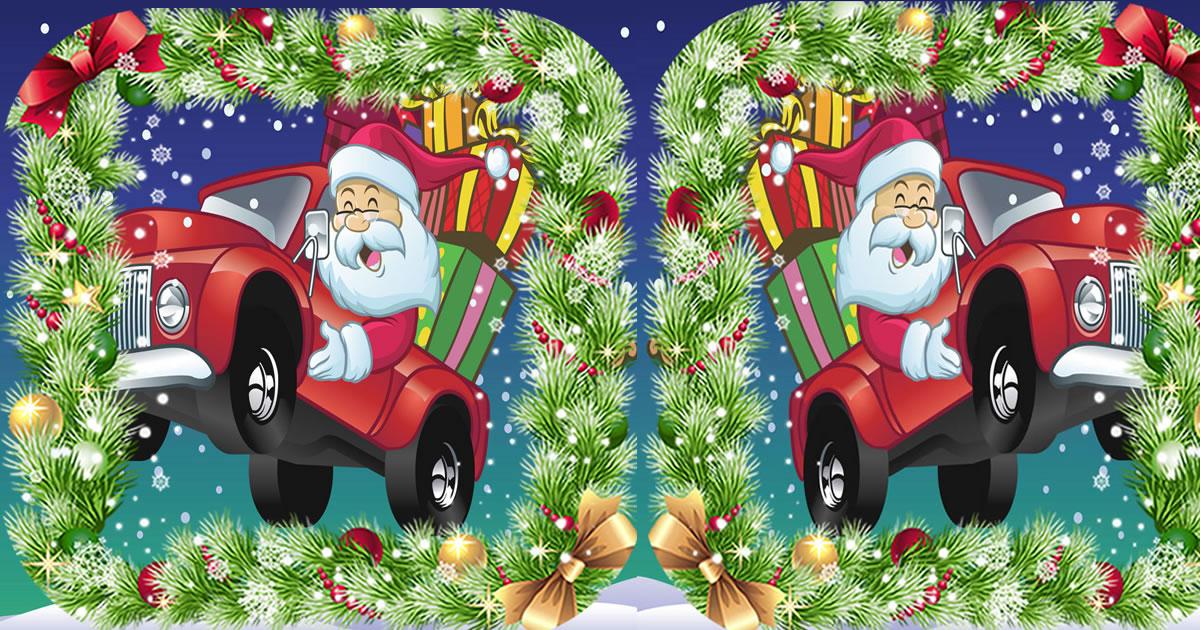 Image Christmas Truck Jigsaw