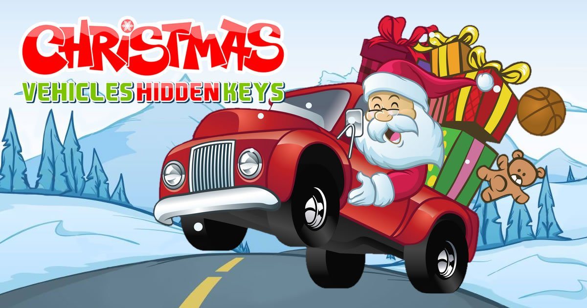 Image Christmas Vehicles Hidden Keys
