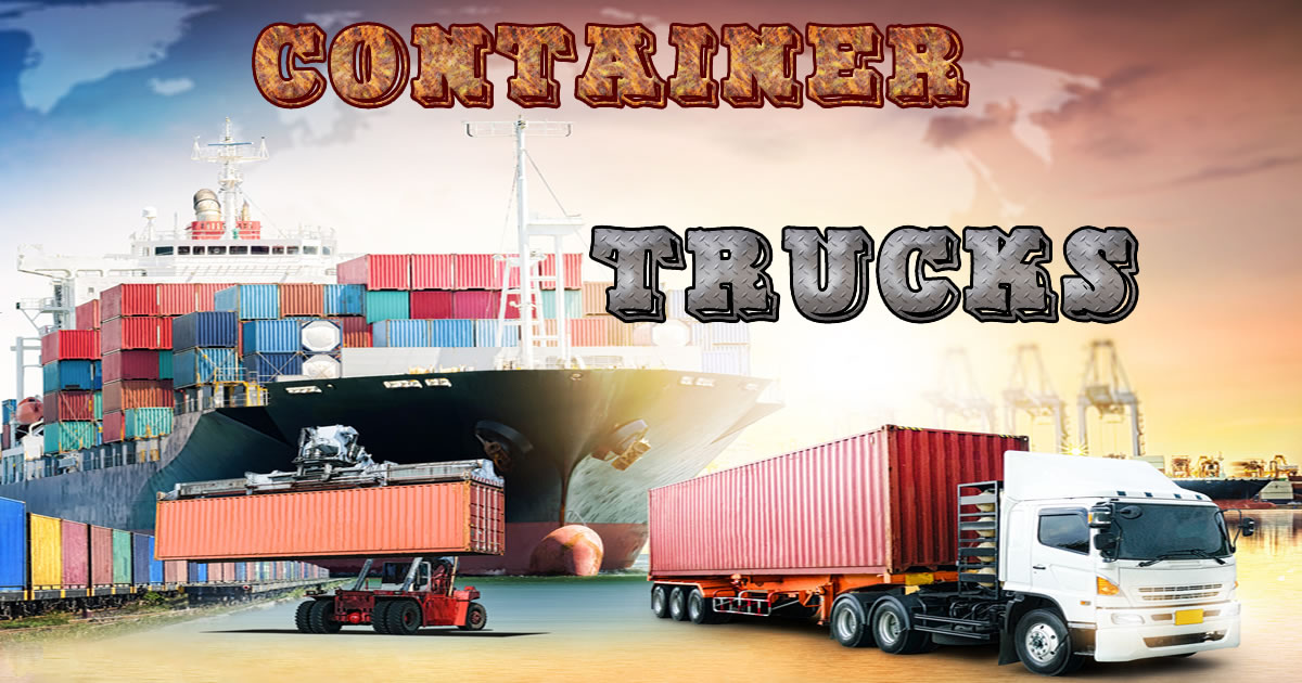 Image Container Trucks Jigsaw