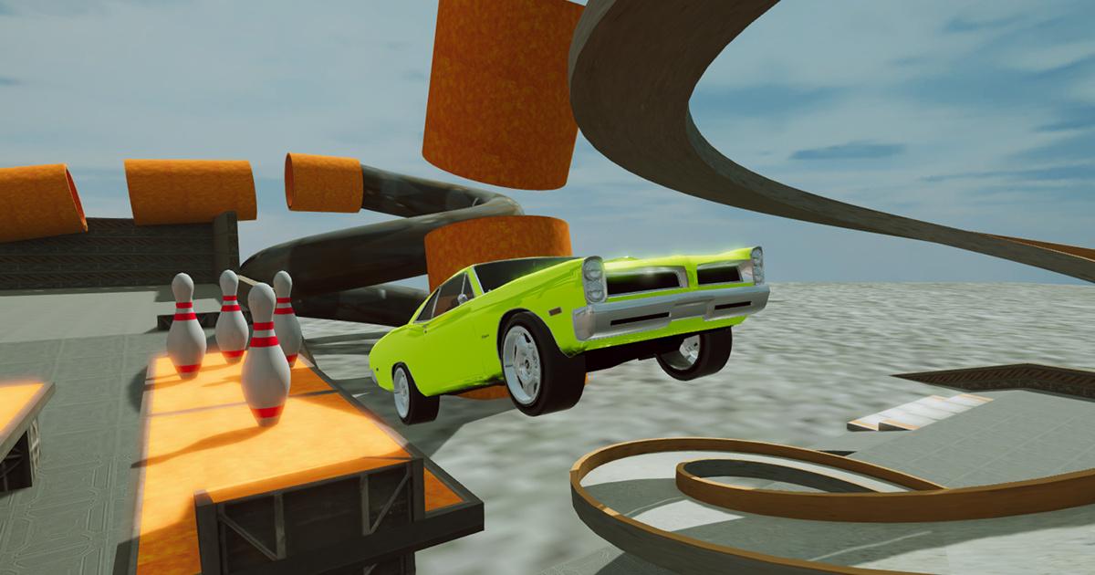 Image CRAZY CAR CRASH STUNTS BOWLING EDITION