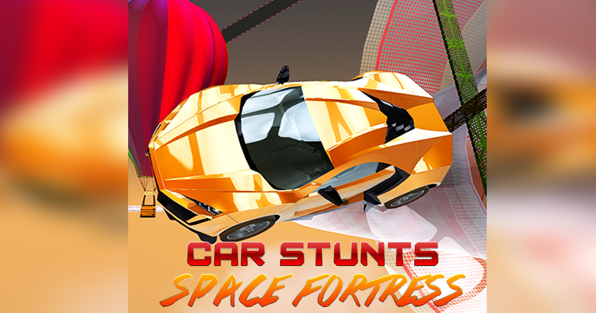 Image Crazy Car Stunts: Space Fortress