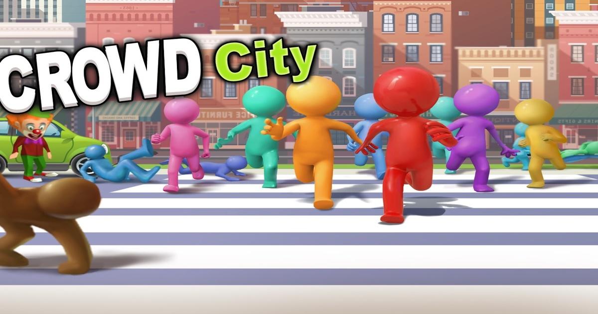 Image Crowd City 3D