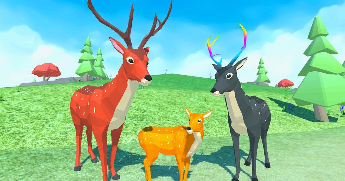 Image Deer Simulator Animal Family