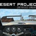 Desert Project Car Physics Simulator