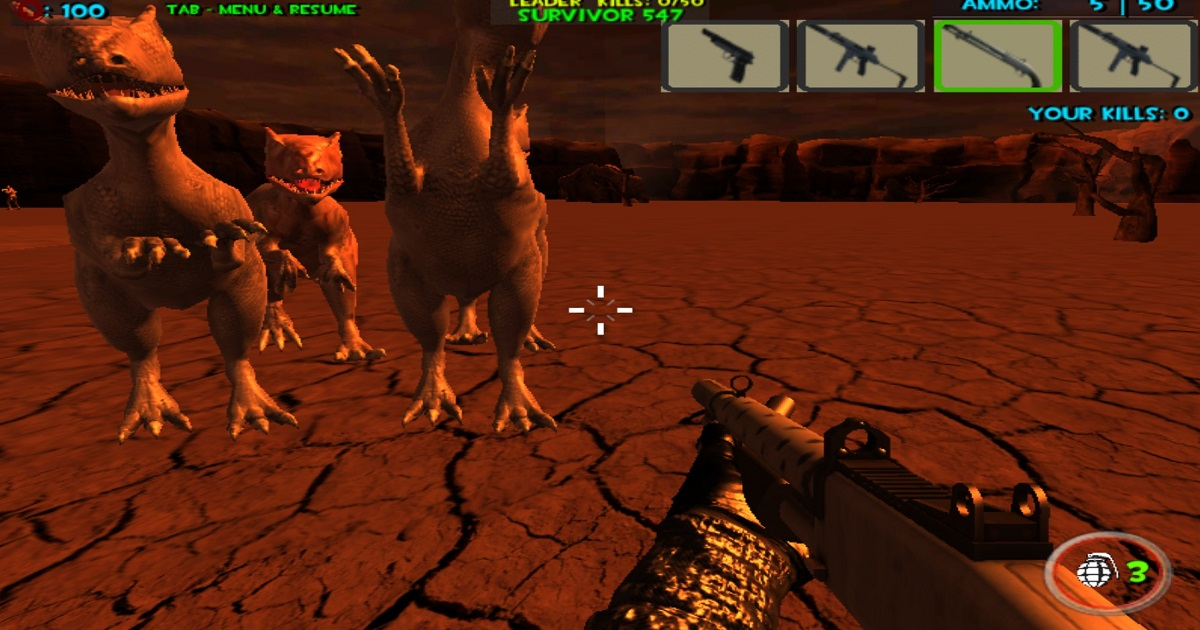 Image Dinosaurs Survival The End Of World