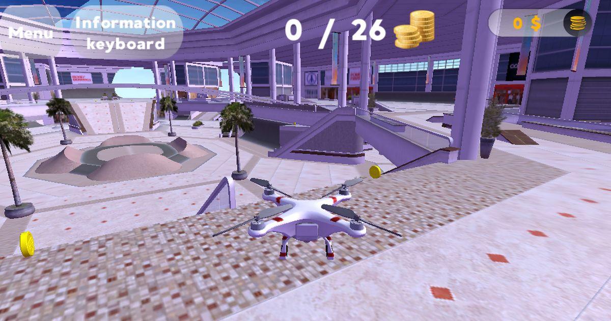 Image Drone Flight Simulator