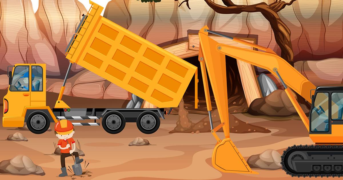 Image Dump Trucks Hidden Objects