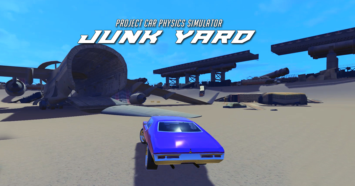 Image European Junk Yard Project Crazy Car Stunts