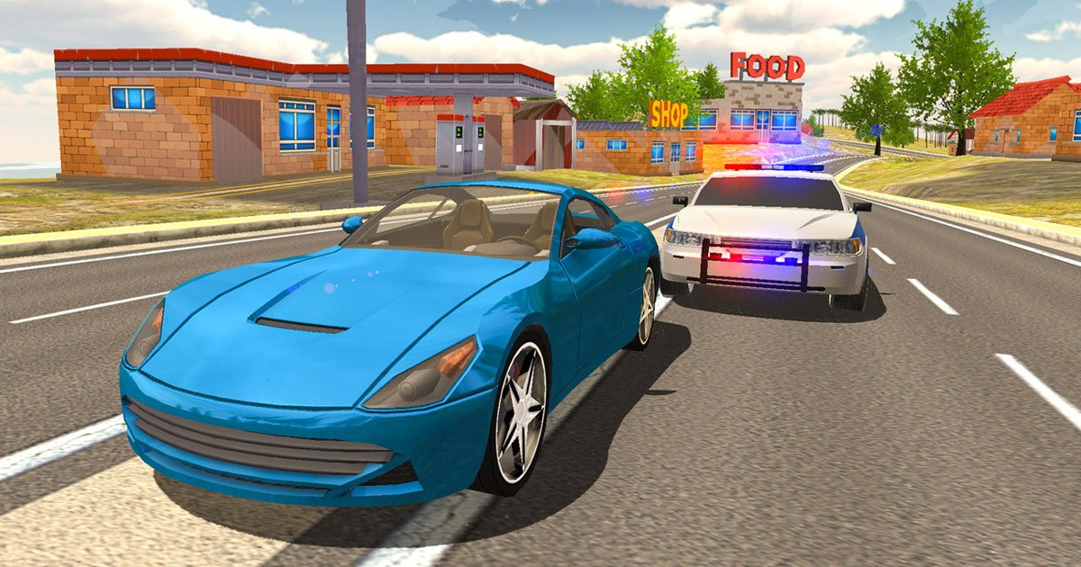 Image Extreme Car Driving Simulator Game