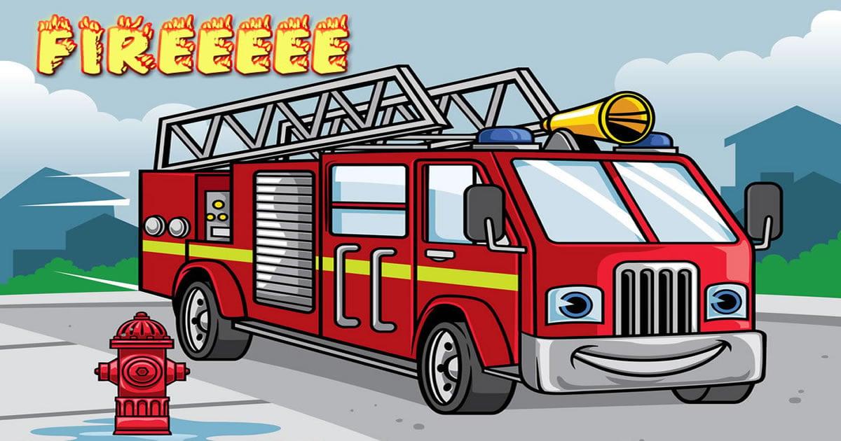 Image Fire Truck Jigsaw
