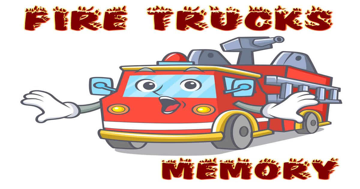 Image Fire Trucks Memory