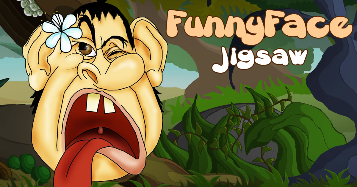 Image Funny Face Jigsaw