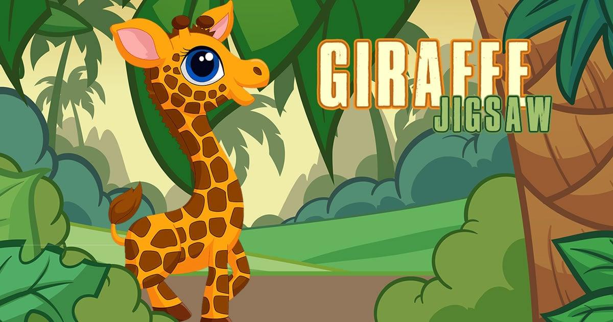 Image Giraffe Jigsaw