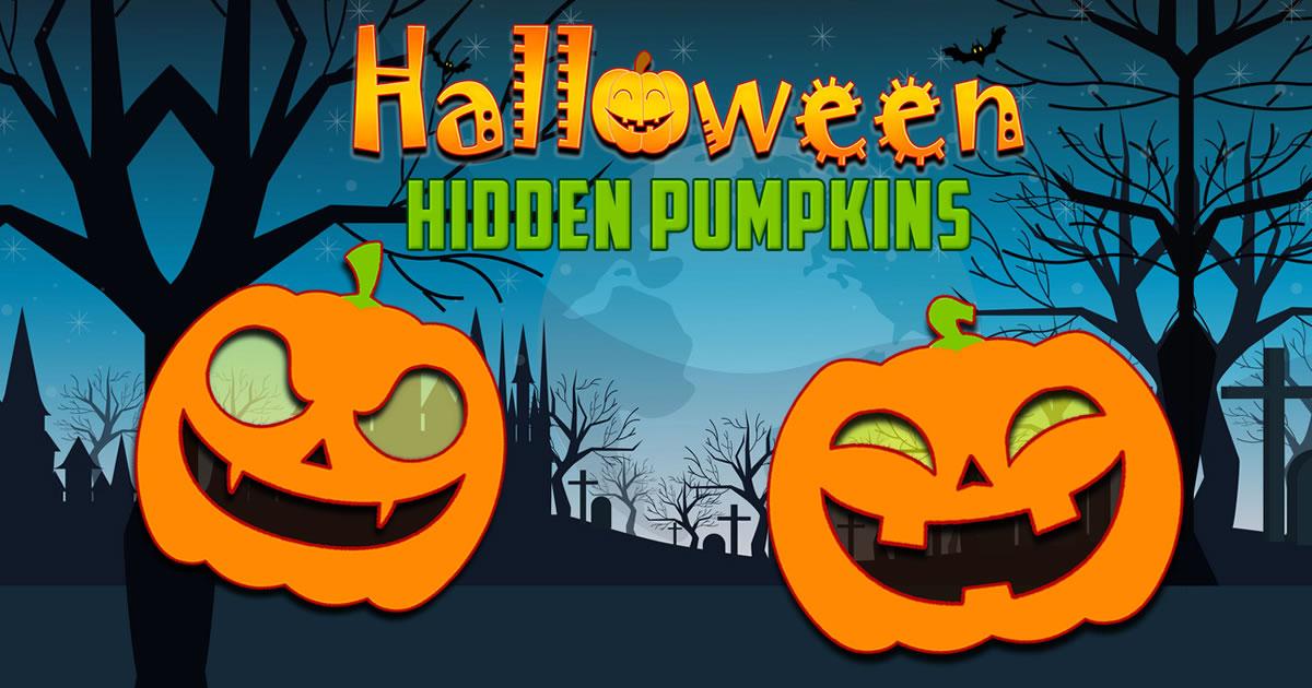 Image Halloween Hidden Pumpkins