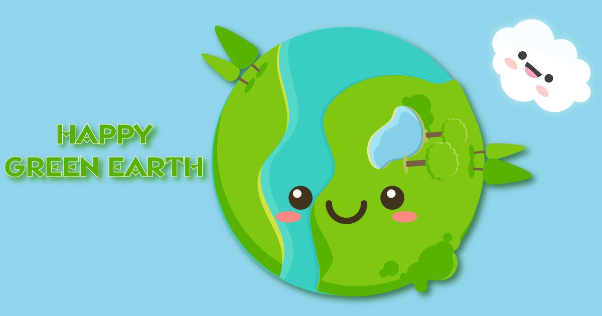 Image Happy Green Earth