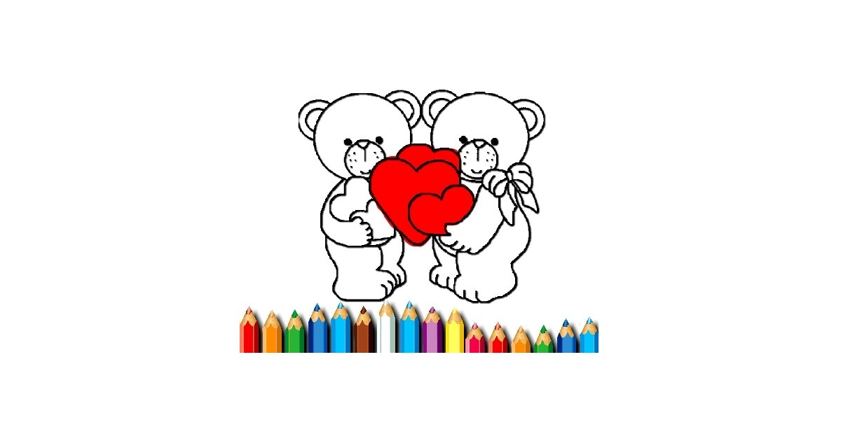 Image Happy Valentines Day Coloring