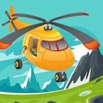 Helicopter Jigsaw