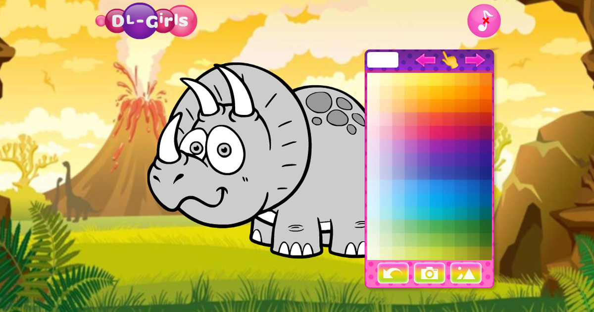 Image Ice Age Funny Dinosaurs Coloring