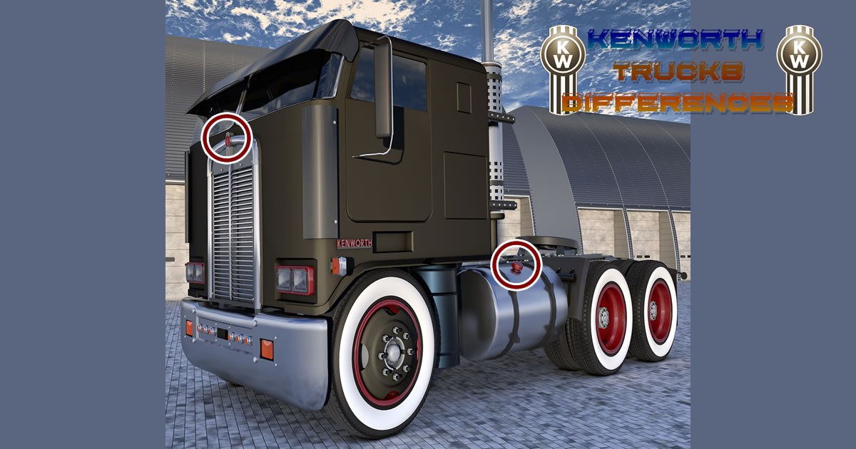 Image Kenworth Trucks Differences