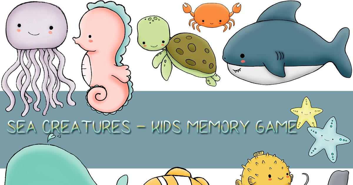 Image Kids Memory Sea Creature