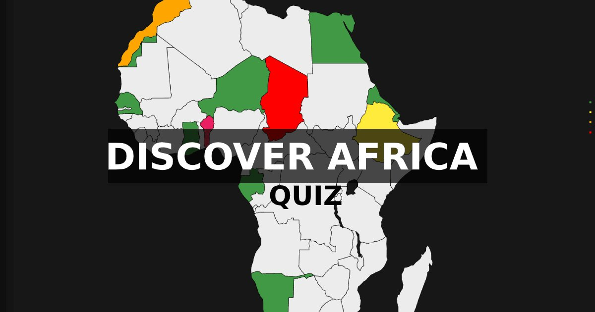 Image Location of African countries | Quiz
