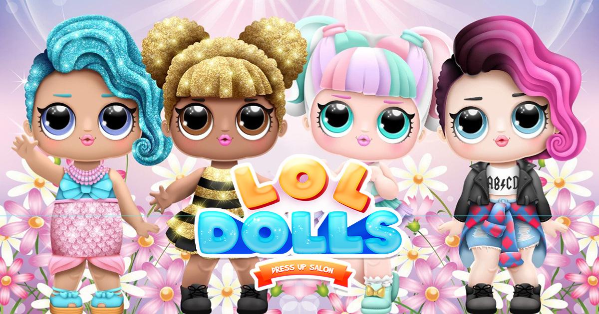 Image LOL Dolls Dress Up Salon