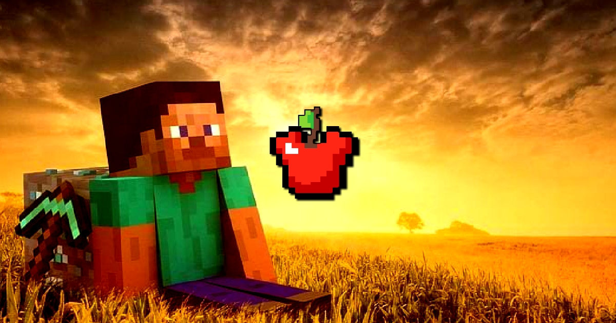 Image Minecraft Apple Shooter