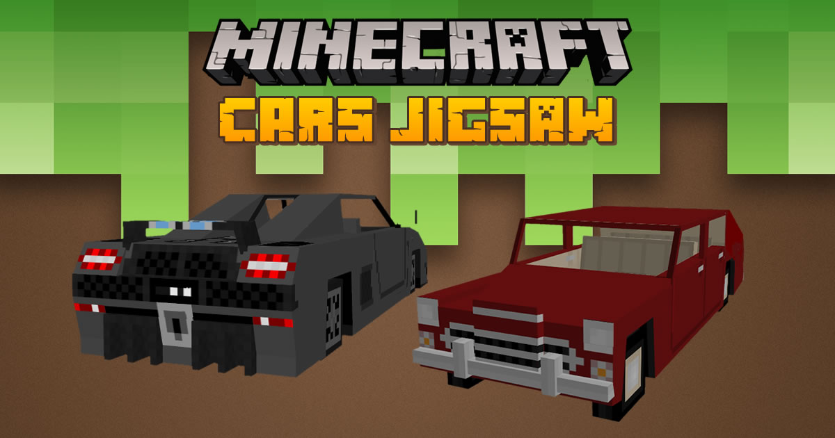 Image Minecraft Cars Jigsaw