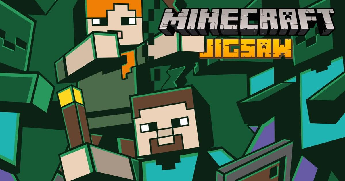 Image Minecraft Jigsaw