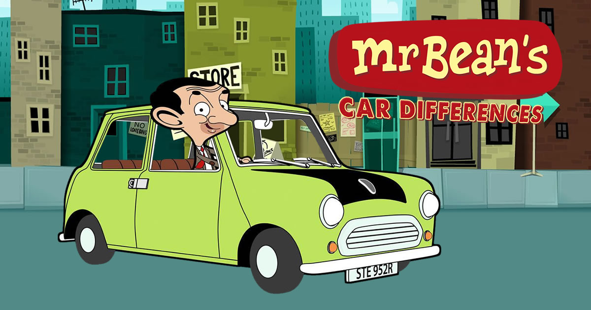 Image Mr. Bean's Car Differences