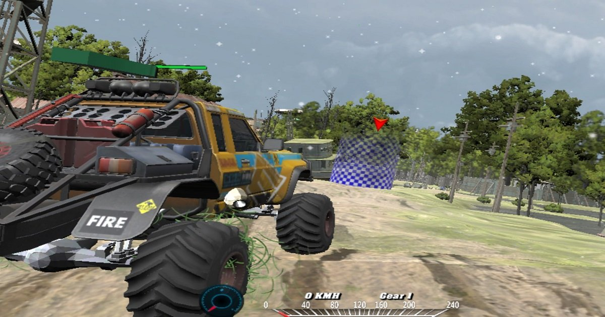 Image Offroad Monster Truck Forest Championship