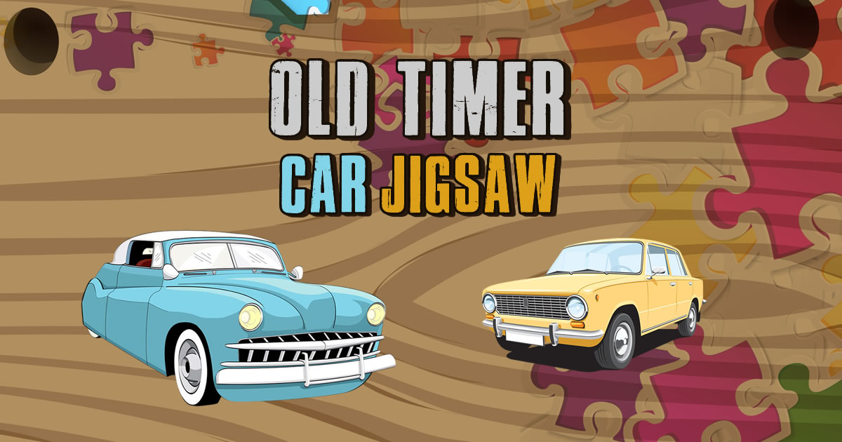 Image Old Timer Car Jigsaw