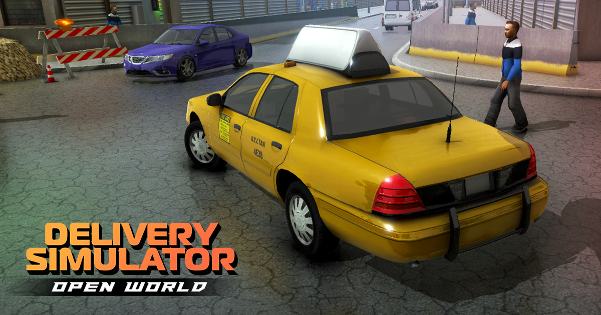 Image Open World Delivery Simulator Taxi Cargo Bus Etc!
