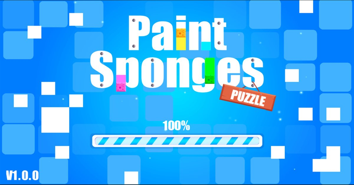 Image Paint Sponges Puzzle