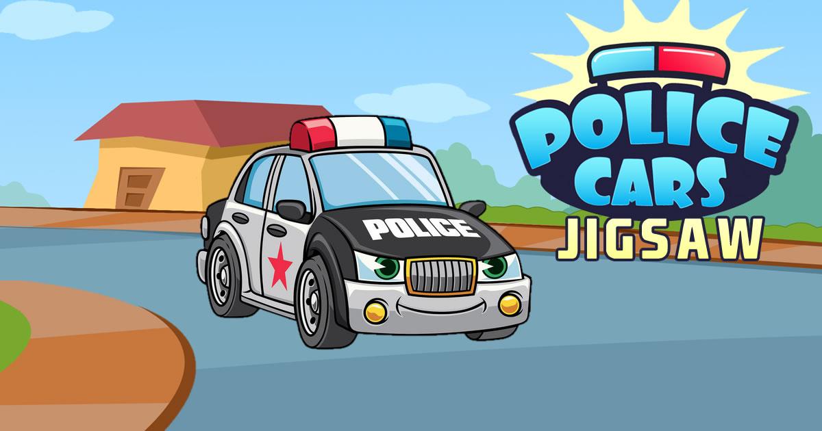 Image Police Cars Jigsaw