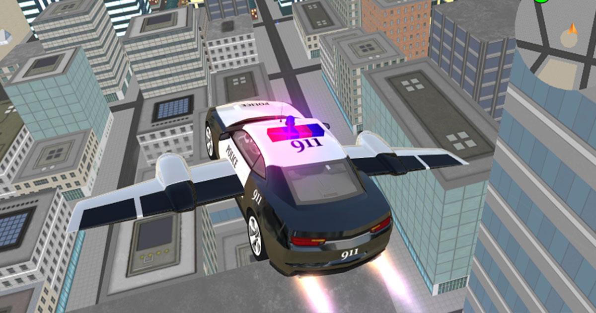 Image Police Flying Car Simulator