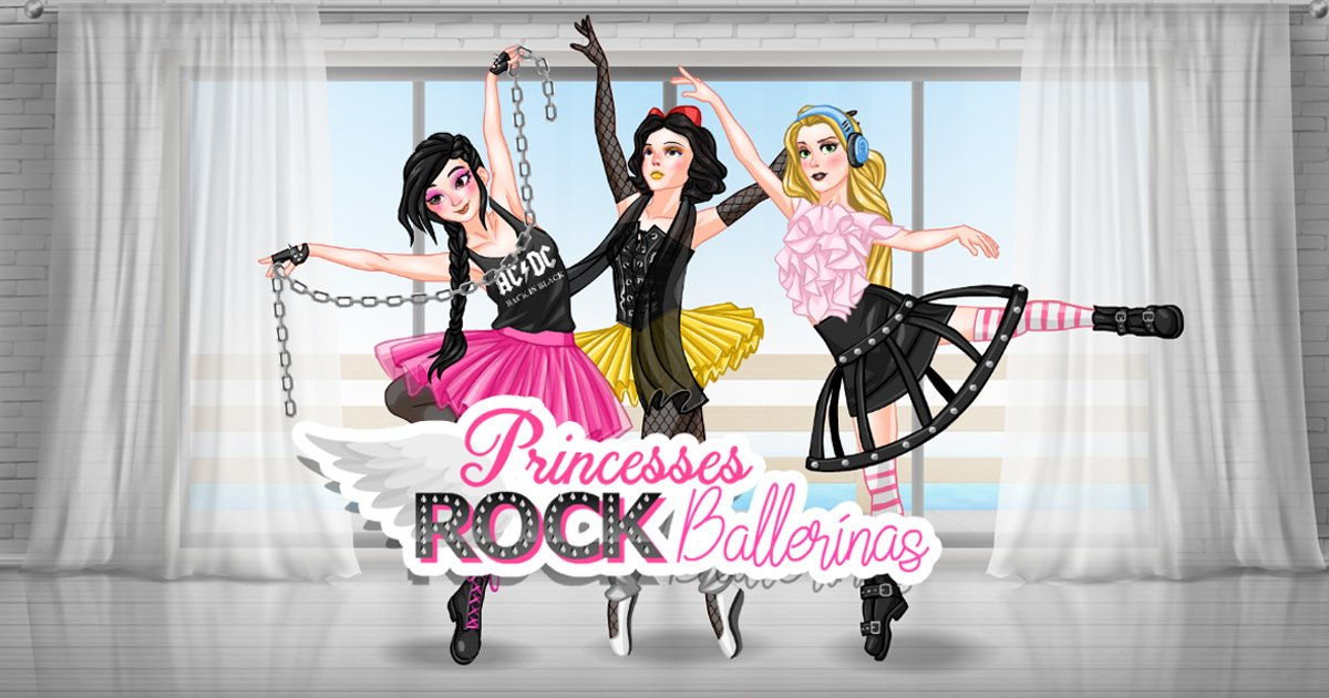 Image Princesses Rock Ballerinas