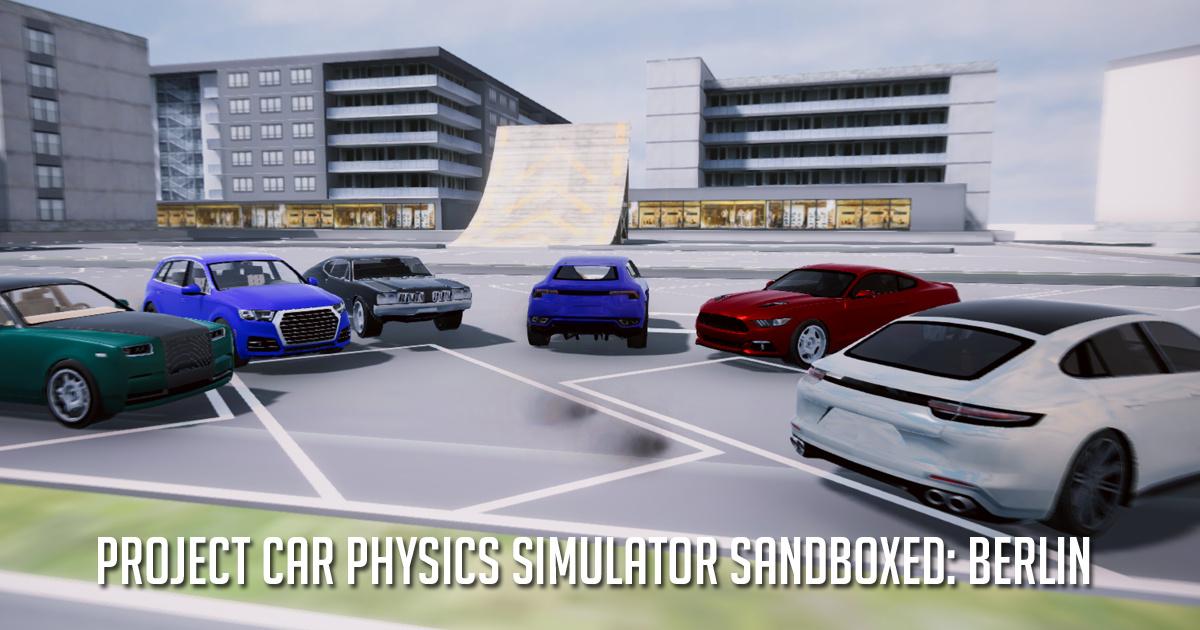 Image Project Car Physics Simulator Sandboxed: Berlin
