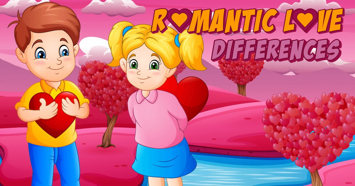 Image Romantic Love Differences