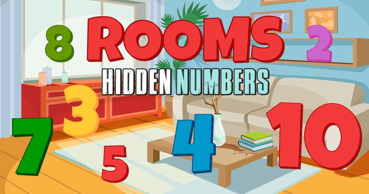 Image Rooms Hidden Numbers