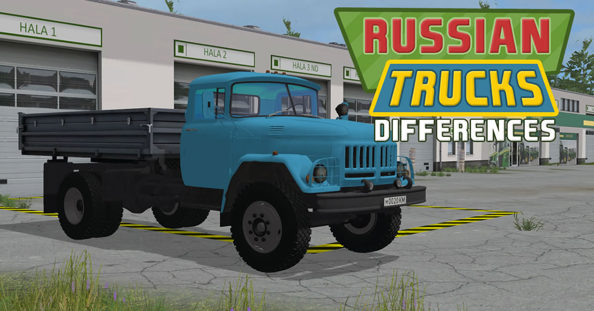Image Russian Trucks Differences
