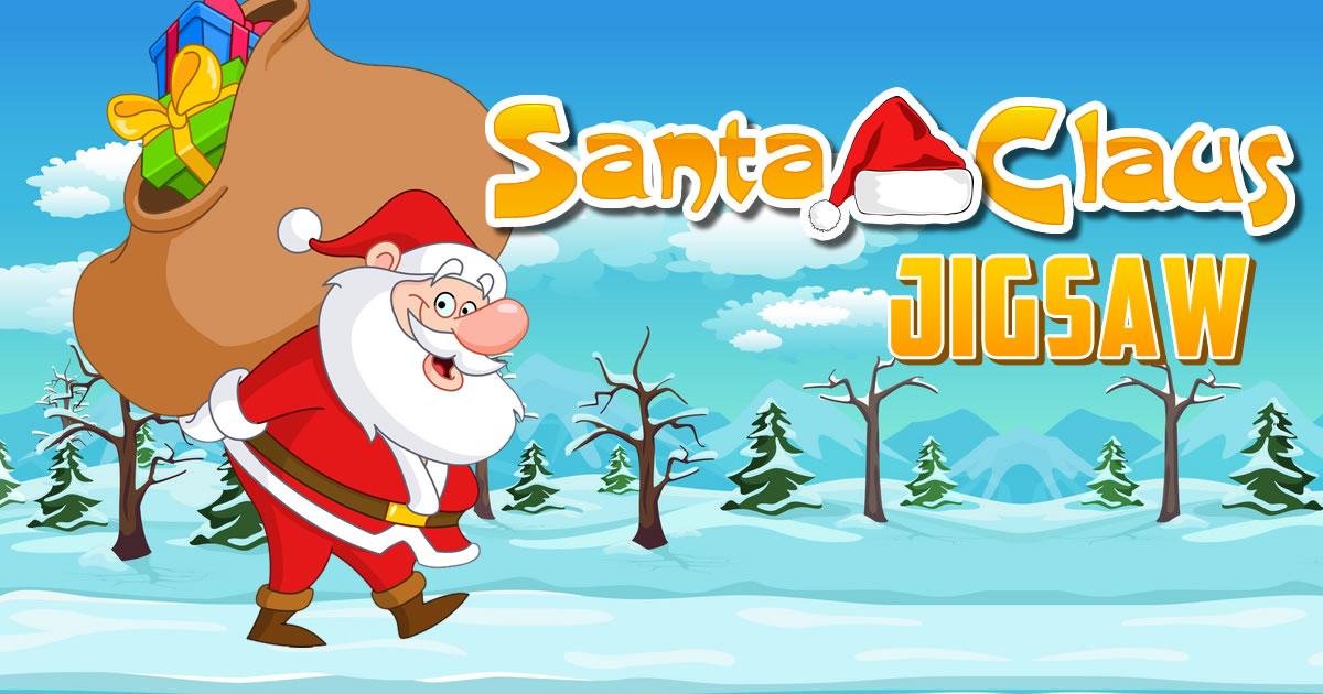 Image Santa Claus Jigsaw
