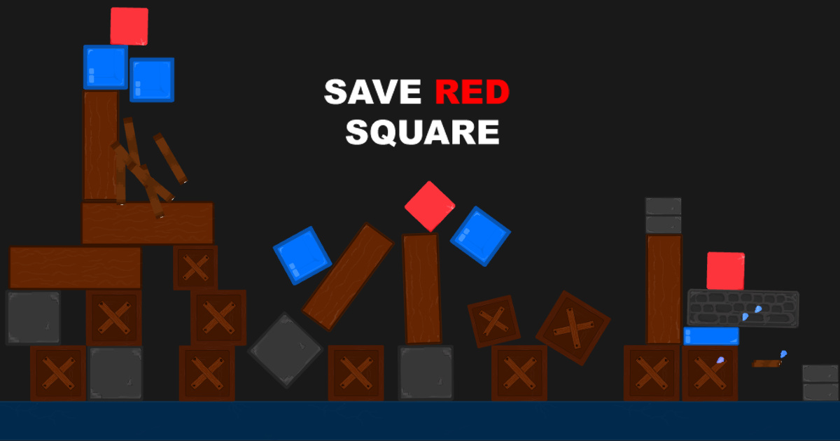 Image Save RED Square