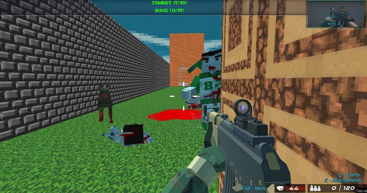 Image Shooting Blocky Combat Swat GunGame Survival